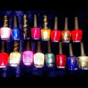 OPI nail and toe polish. Most never been opened.